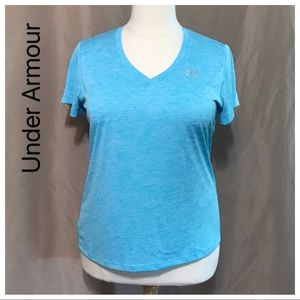 Under Armour XL loose heat gear T-shirt blue